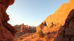 Arches National Park - South Window - stock footage