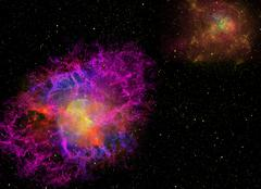 Space Nebula Stock Illustration