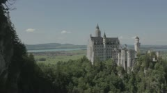 Stock Video Footage of Schloss / castle neuschwanstein