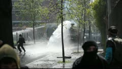 Water Cannon Stock Footage