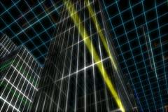 0178 CiudadLineas NTSC Stock Footage