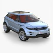3d model of Land Rover LRX Concept 2008