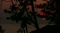 Timelapse Sunset Koh Chang Stock Footage