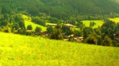 European Alps Austria 30 stylized Stock Footage