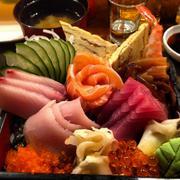 Sushi Bowl - stock photo