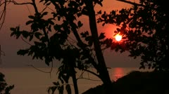 Sunset Koh-Chang-timelapse002 Stock Footage