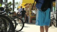 Boardwalk Scenes - stock footage