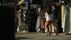 Boardwalk Scenes Stock Footage