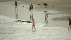 Beach Scenes Stock Footage