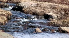 Arctic Tundra Stream.mp4 Stock Footage
