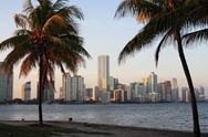 Stock Photo of Miami, Florida Skyline