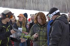 Shawn White signs autographs 2007 World Superpipe Championship Park City - stock photo