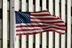 American Yhdysvaltain lippu edessä ikkunoista 9038.jpg Kuvituskuvat