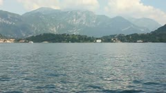 Lake Como #1 Stock Footage