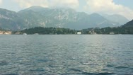 Stock Video Footage of Lake Como #1