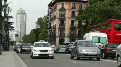 Madrid Calle De Bailen 02 Stock Footage