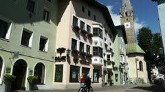 Kitzbuhel Austria 01 Stock Footage