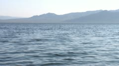 The Salton Sea California - May 2012 - stock footage