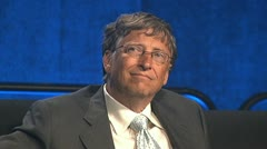 B-roll of Bill Gates Stock Footage