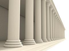 Columns Stock Illustration