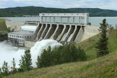 Ghost Hydroelectric Dam Stock Photos