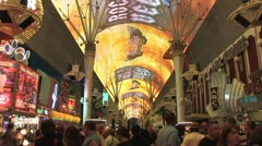 1080p Old Vegas Fremont St 10 Stock Footage