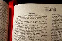 Book of psalms Stock Photos