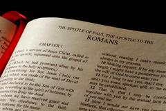 Epistle to the romans Stock Photos