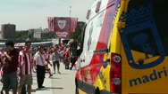 Stock Video Footage of Madrid Casa De Campo before Copa del Rey Final 2012 Athletic Bilbao Fans 17