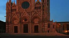 Italy, tuscany, siena Stock Footage