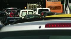 Madrid Cuesta De San Vicente 03 traffic Stock Footage