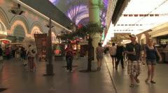 720p Old Las Vegas Strip 2 Stock Footage