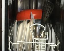 dishwasher - stock footage