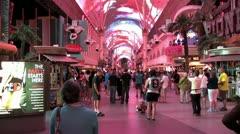 720p Old Las Vegas Strip 6 Stock Footage