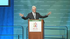 President Bill Clinton Stock Footage