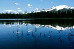 buller lake 01 - stock photo