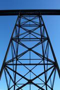 Railway trestle Stock Photos