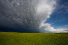 Approaching storm Stock Photos