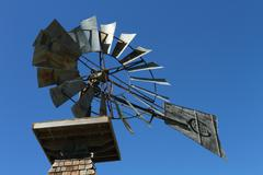 Windmill 05 - stock photo