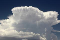 Cumulonimbus Incus Anvil Head Cloud Stock Photos