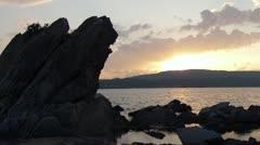 Mediterranean Sunrise Stock Footage