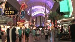 1080p Old Las Vegas Strip 4 Stock Footage