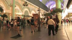 1080p Old Las Vegas Strip 3 Stock Footage