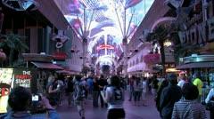 1080p Old Las Vegas Strip 7 Stock Footage