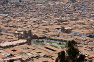 Stock Photo of city of cuzco peru