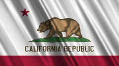 California Flag Piirros