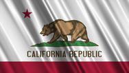 California Flag Stock Illustration