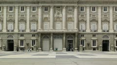 Madrid Palazzo Reale 04 Stock Footage