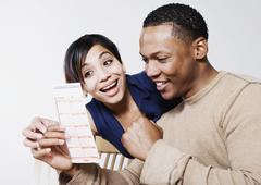 Innoissaan pari katsot lottoa Kuvituskuvat