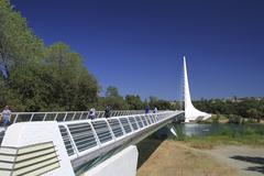 Stock Photo of Sundial bridge,